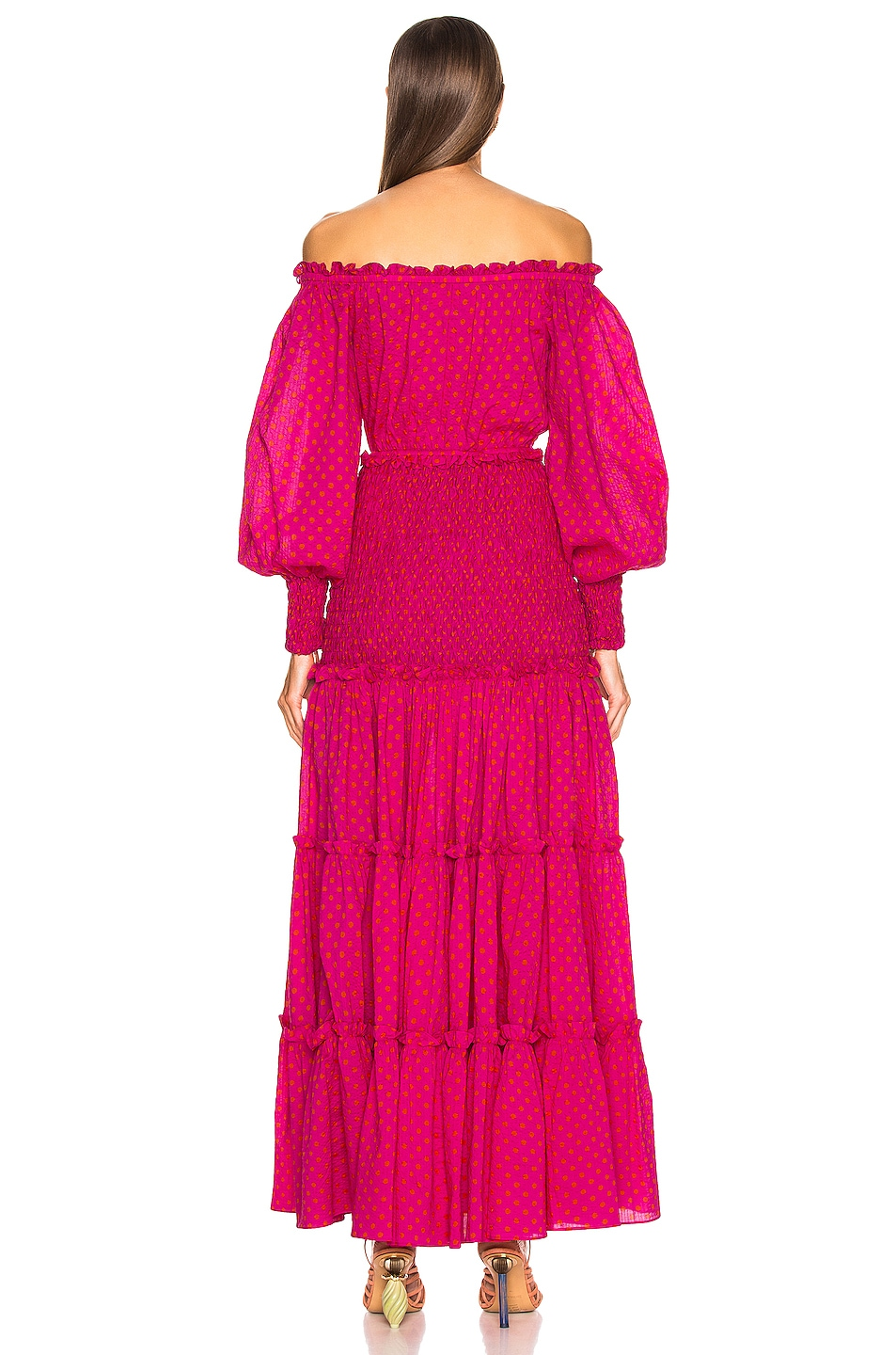 Image 3 of Alexis Thalssa Dress in Fuchsia Dot