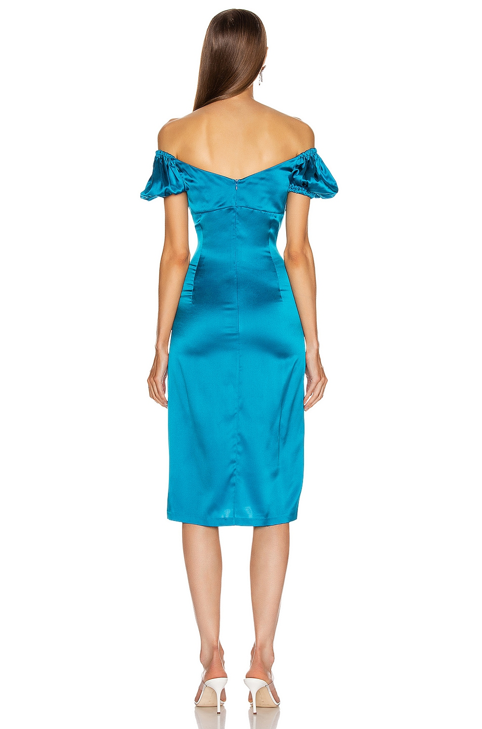 Image 3 of Alexis Cadiz Dress in Capri Blue