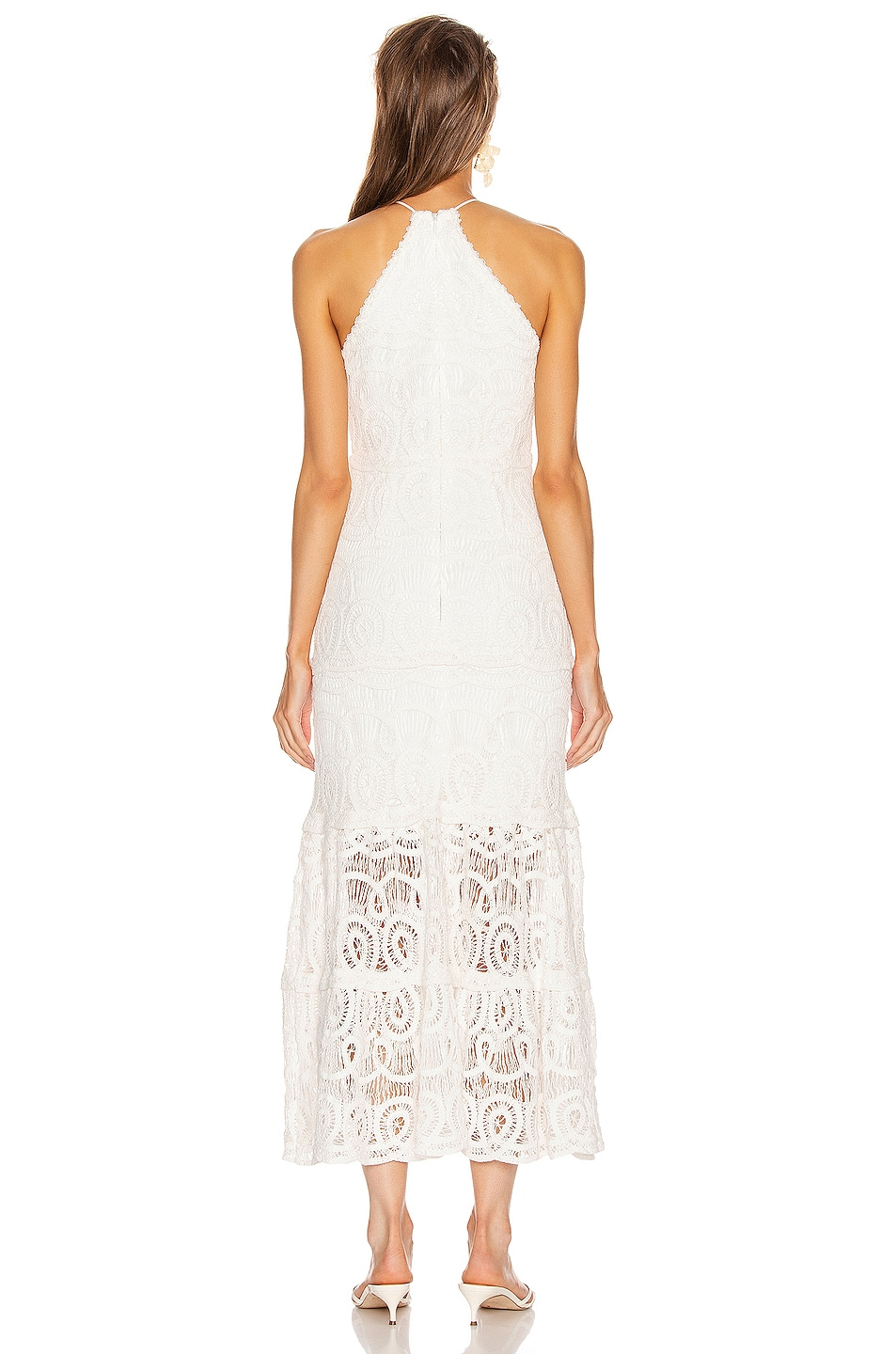 Image 3 of Alexis Yvonna Dress in White