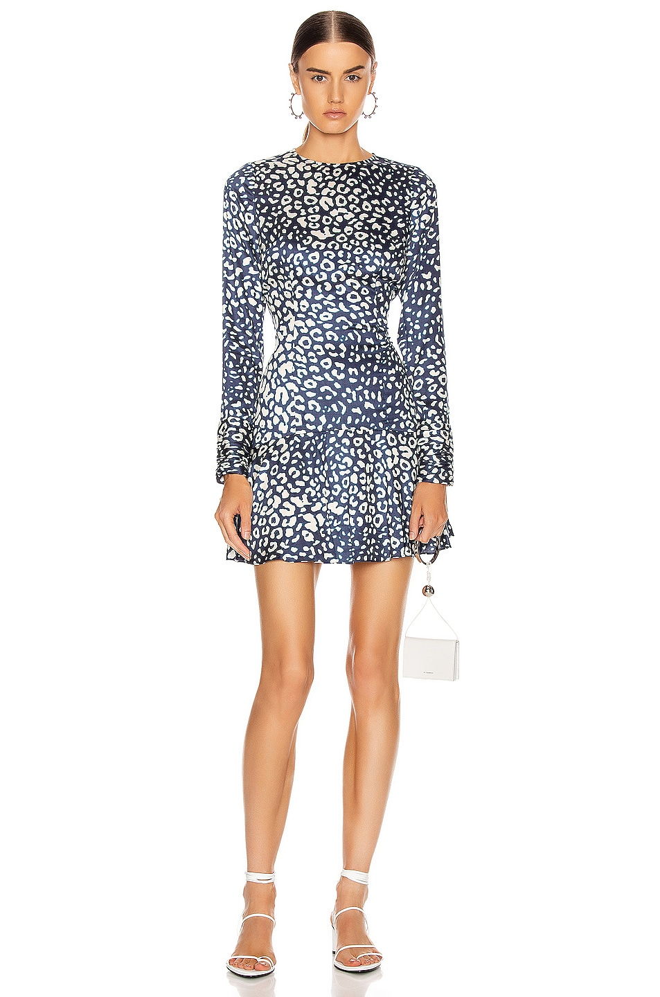 Image 1 of Alexis Madhu Dress in Marine Leopard