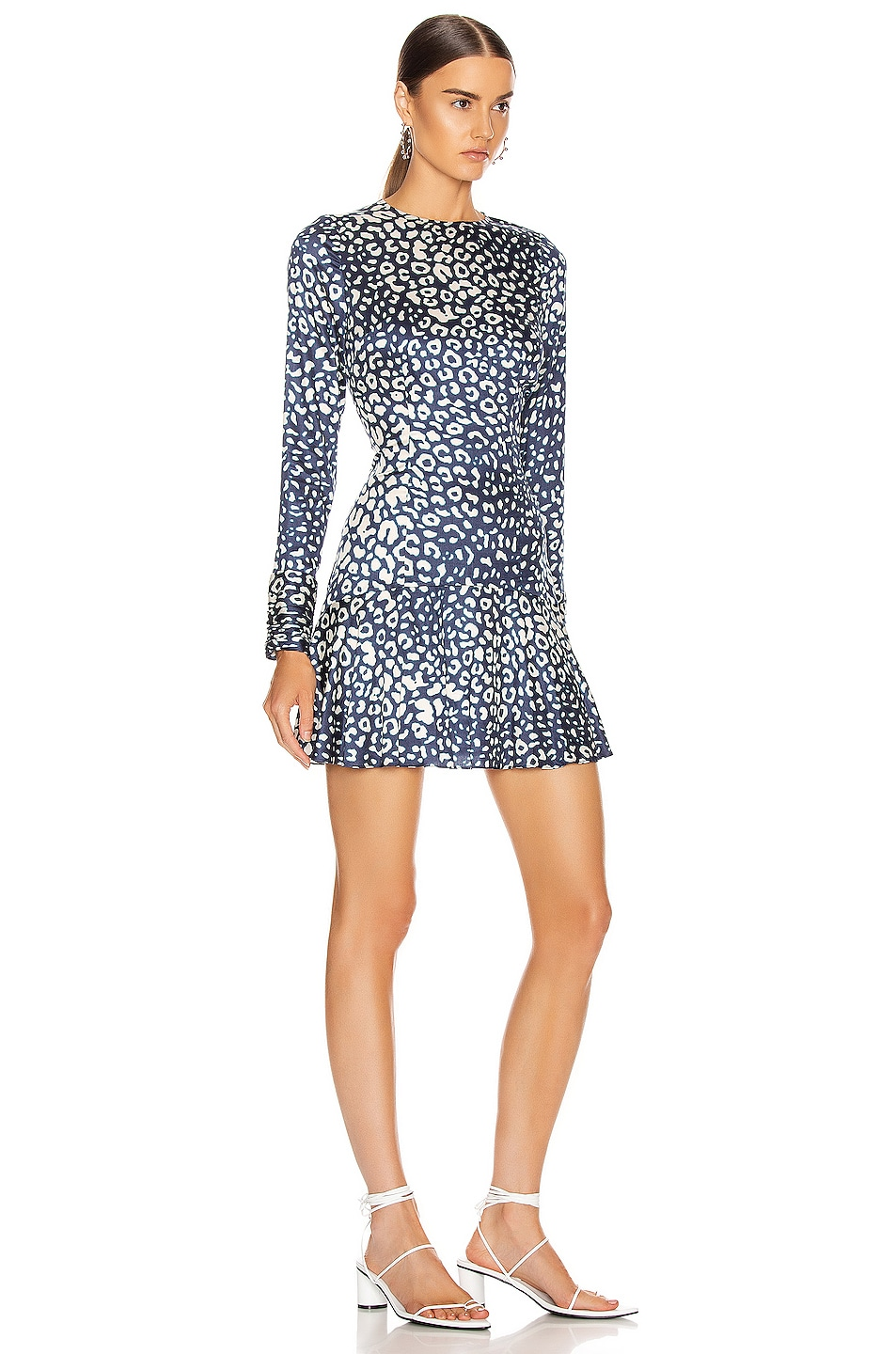 Image 2 of Alexis Madhu Dress in Marine Leopard