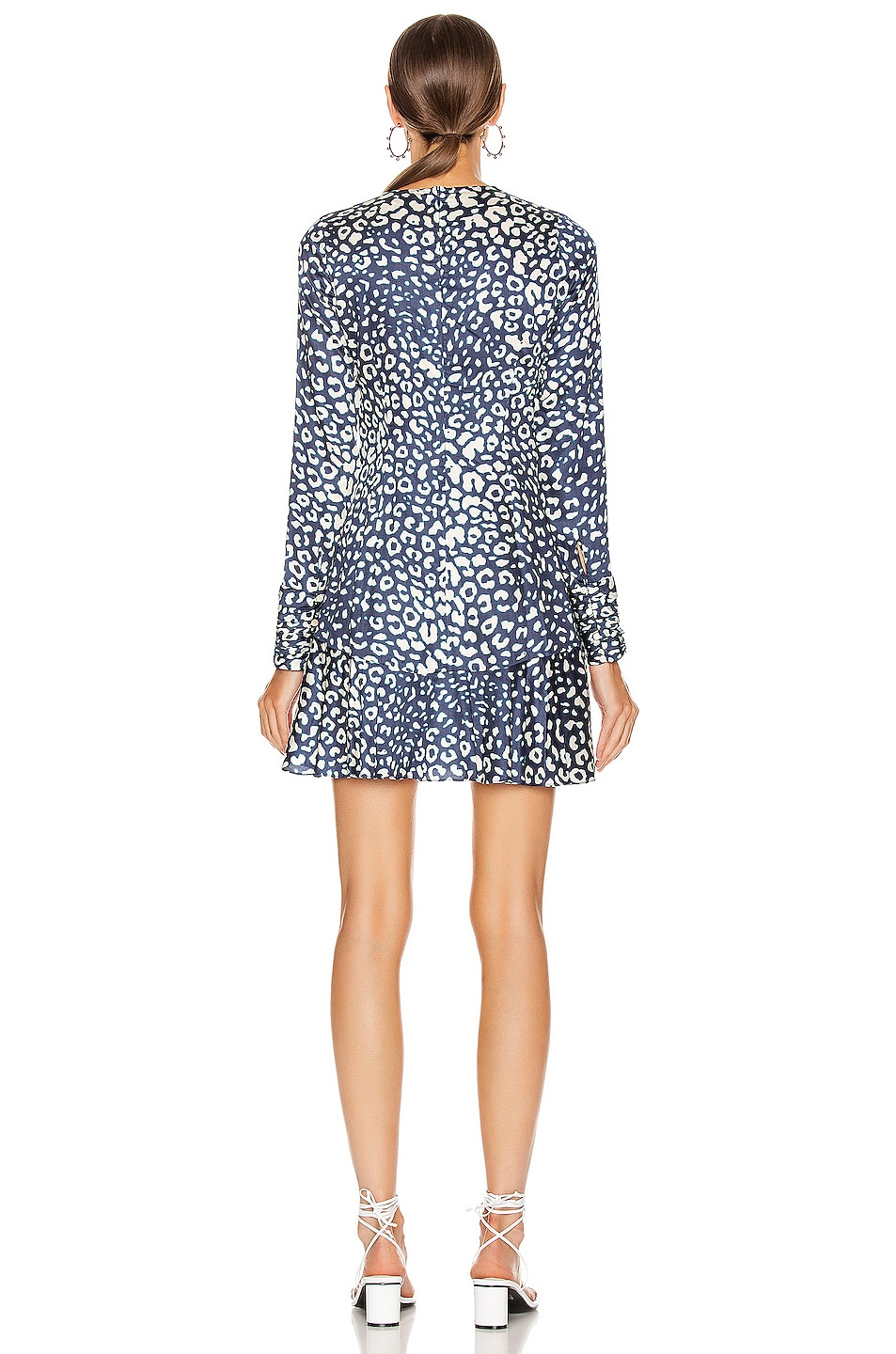 Image 3 of Alexis Madhu Dress in Marine Leopard