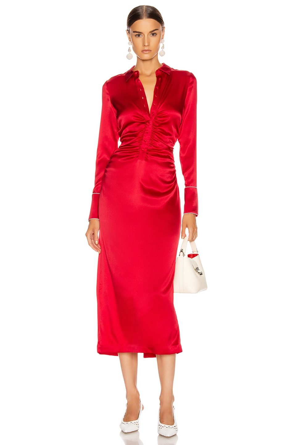 Image 1 of Alexis Candace Dress in Red