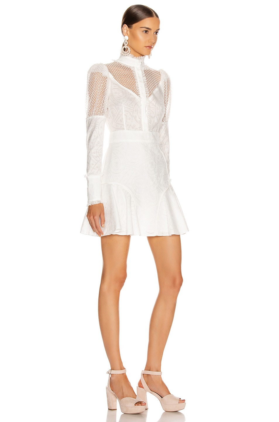Image 2 of Alexis Madilyn Dress in White