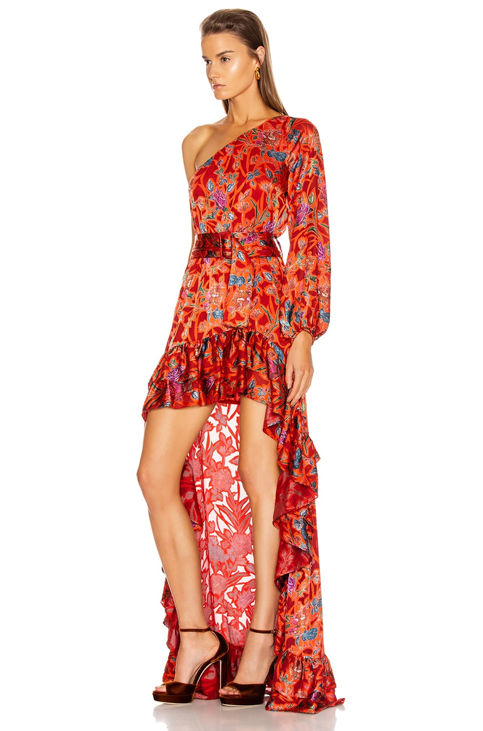 Image 3 of Alexis Marseill Dress in Red Flor
