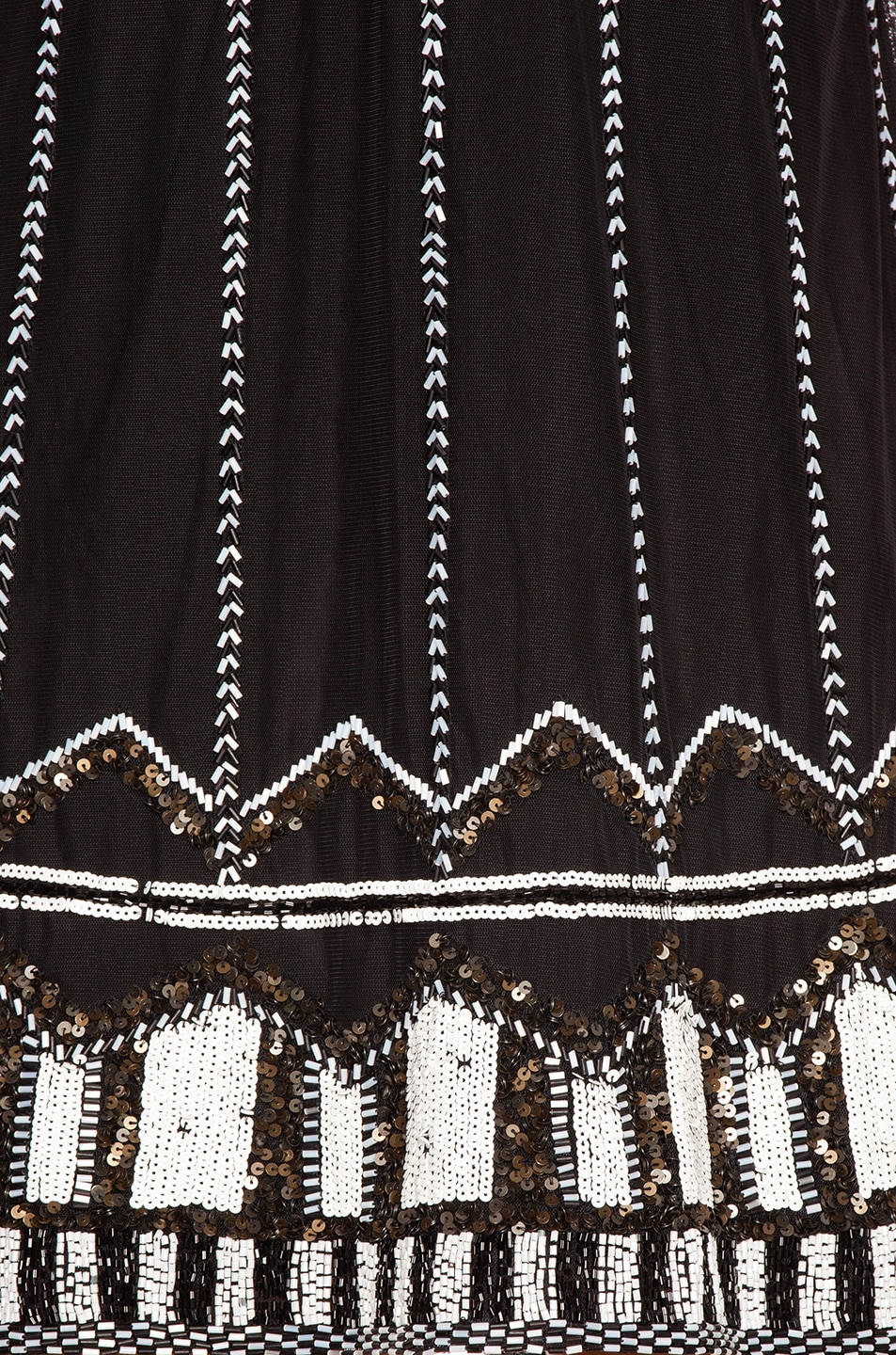 Image 4 of Alexis Jayna Dress in Black Embroidery