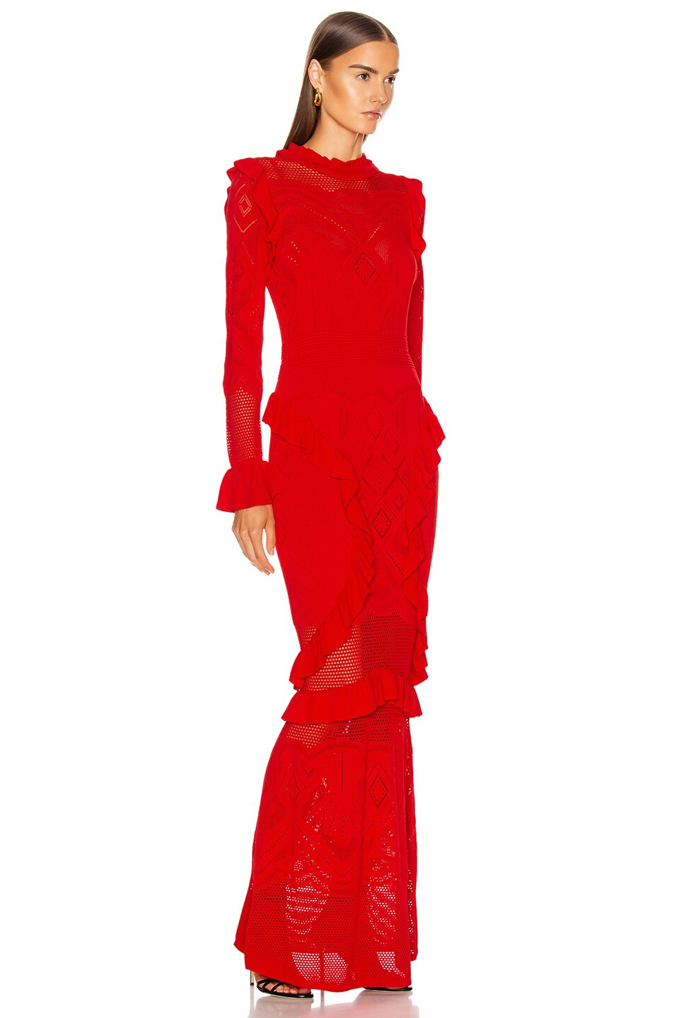 Image 2 of Alexis Ceecee Dress in Red