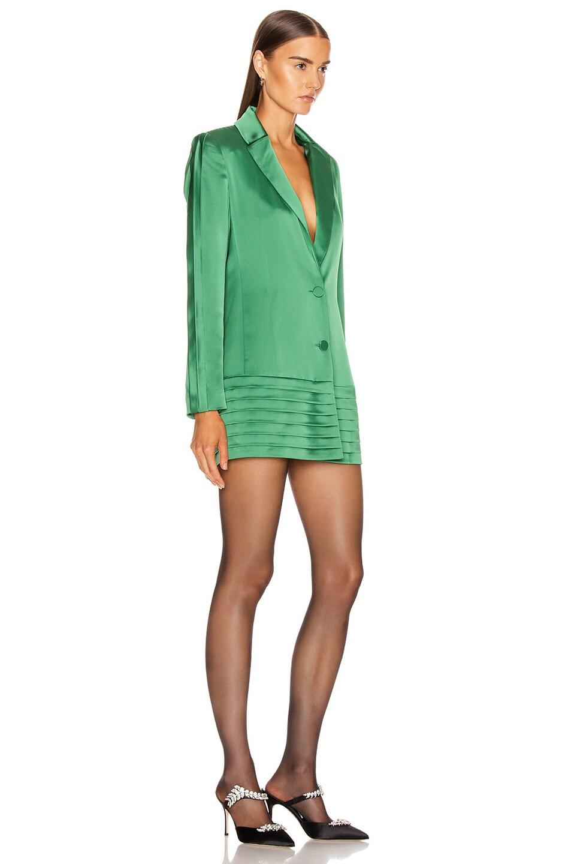 Image 2 of Alexis Oskari Dress in Emerald Green