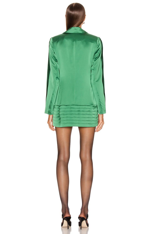 Image 3 of Alexis Oskari Dress in Emerald Green