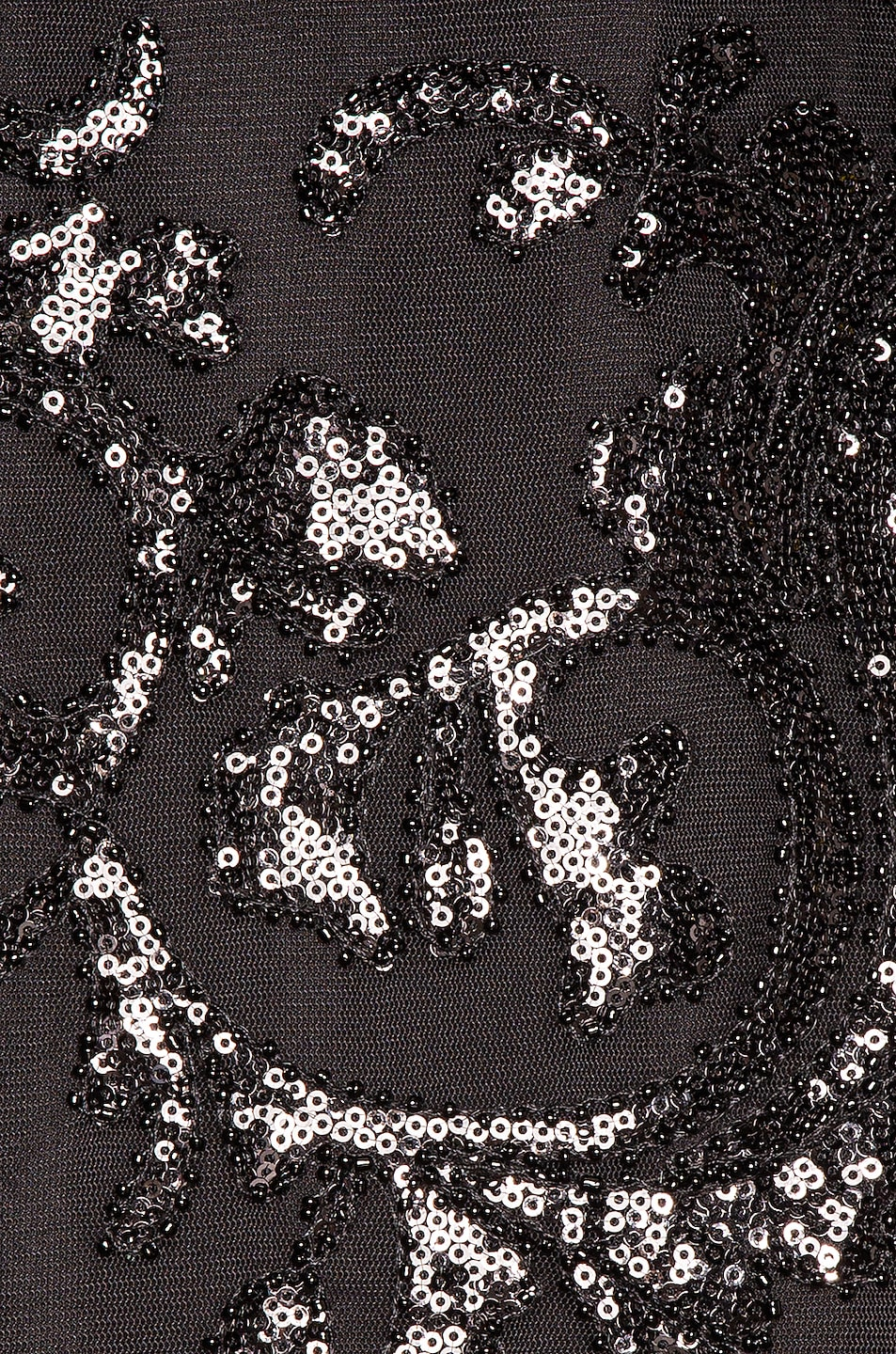 Image 4 of Alexis Franciska Dress in Beaded Black