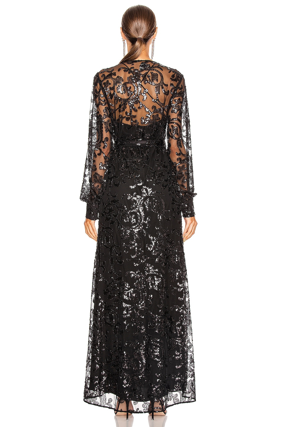 Image 3 of Alexis Biata Dress in Beaded Black