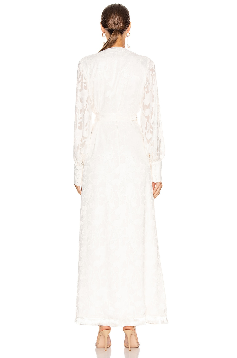 Image 4 of Alexis Antonella Dress in Ivory Floral