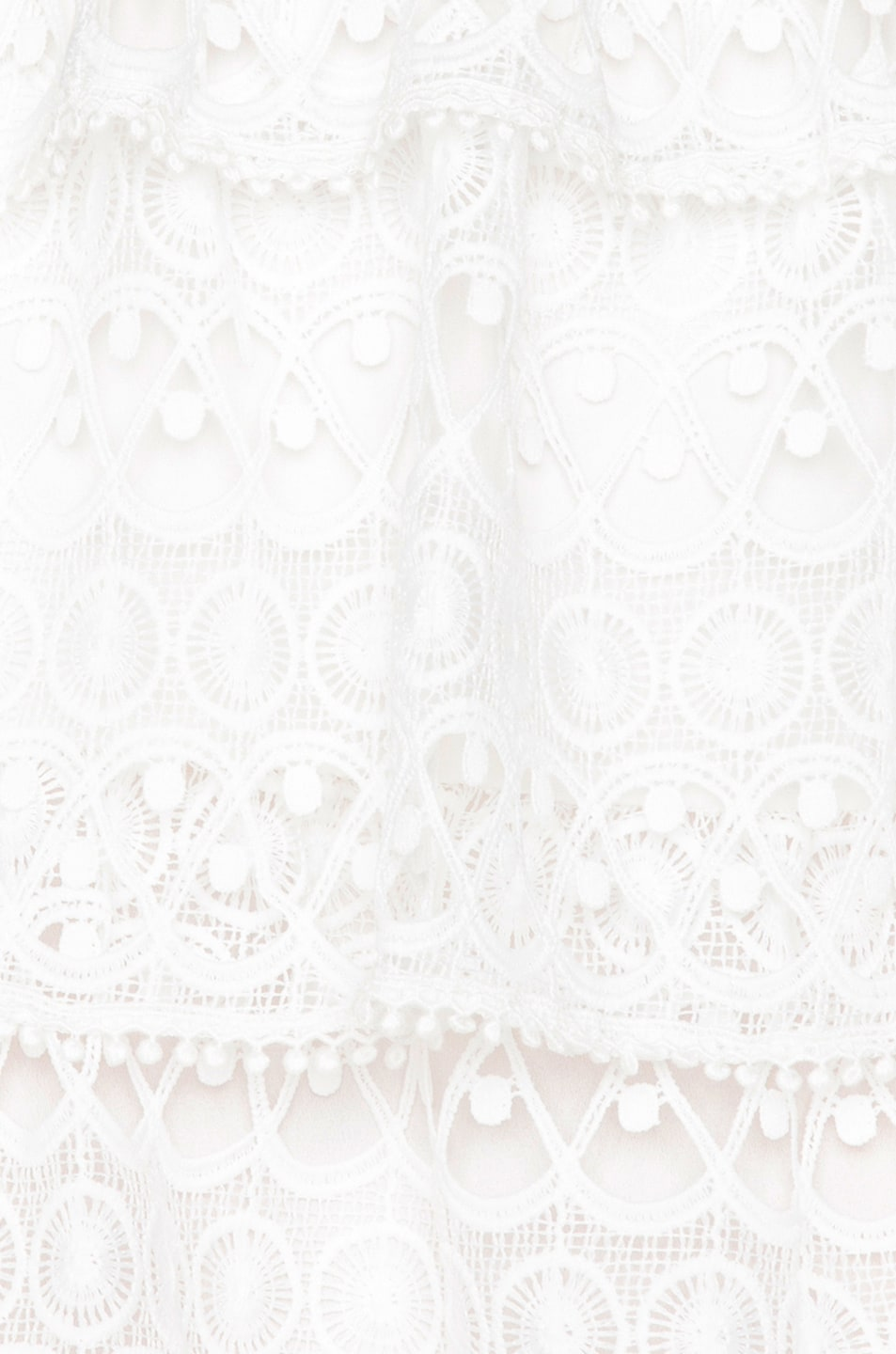 Image 5 of Alexis Gem Dress in White Embroidery