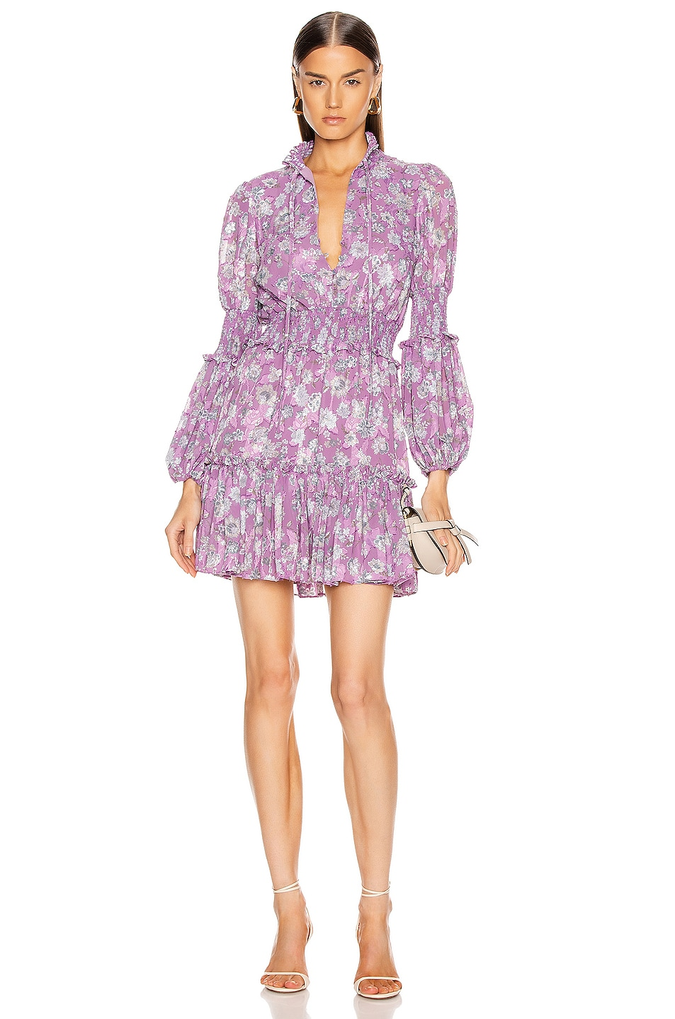 Image 1 of Alexis Rosewell Dress in Lilac Floral
