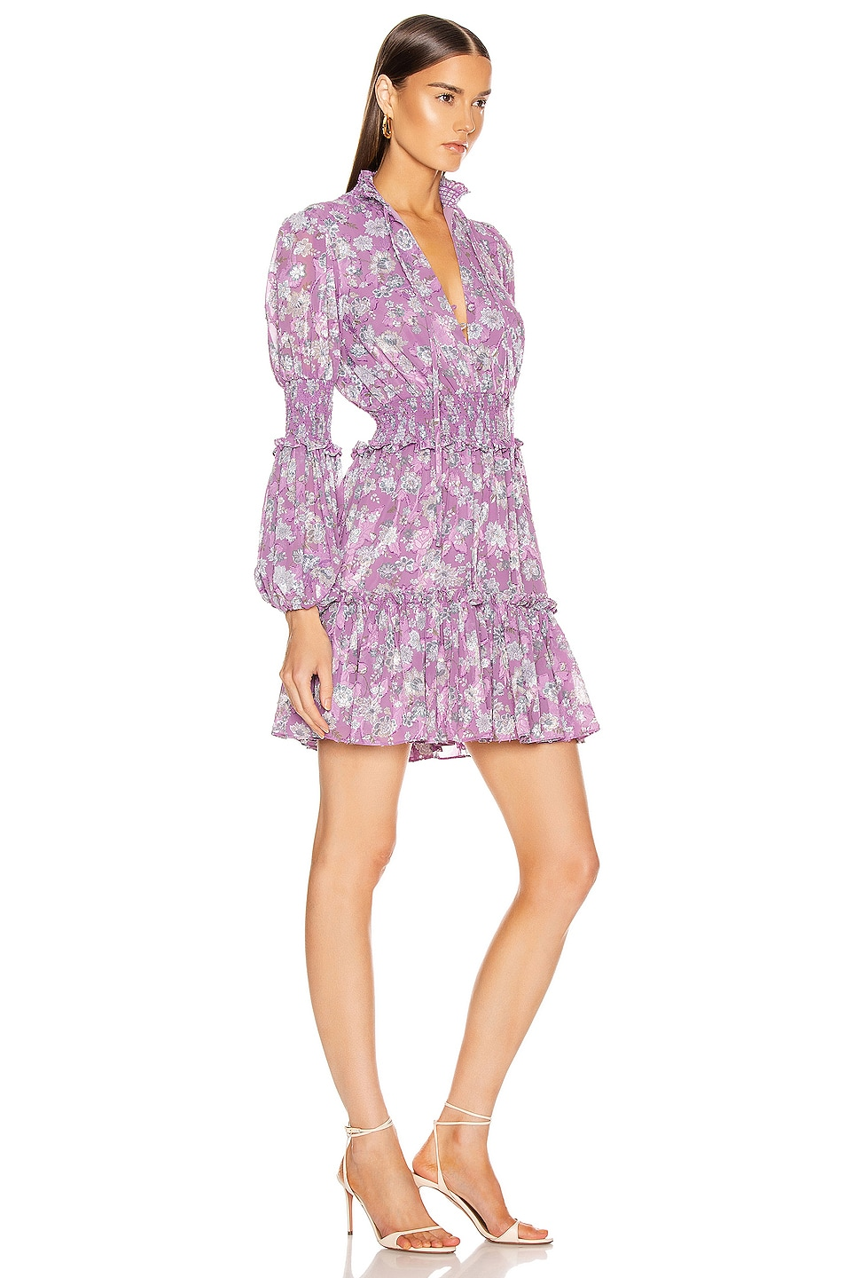 Image 2 of Alexis Rosewell Dress in Lilac Floral