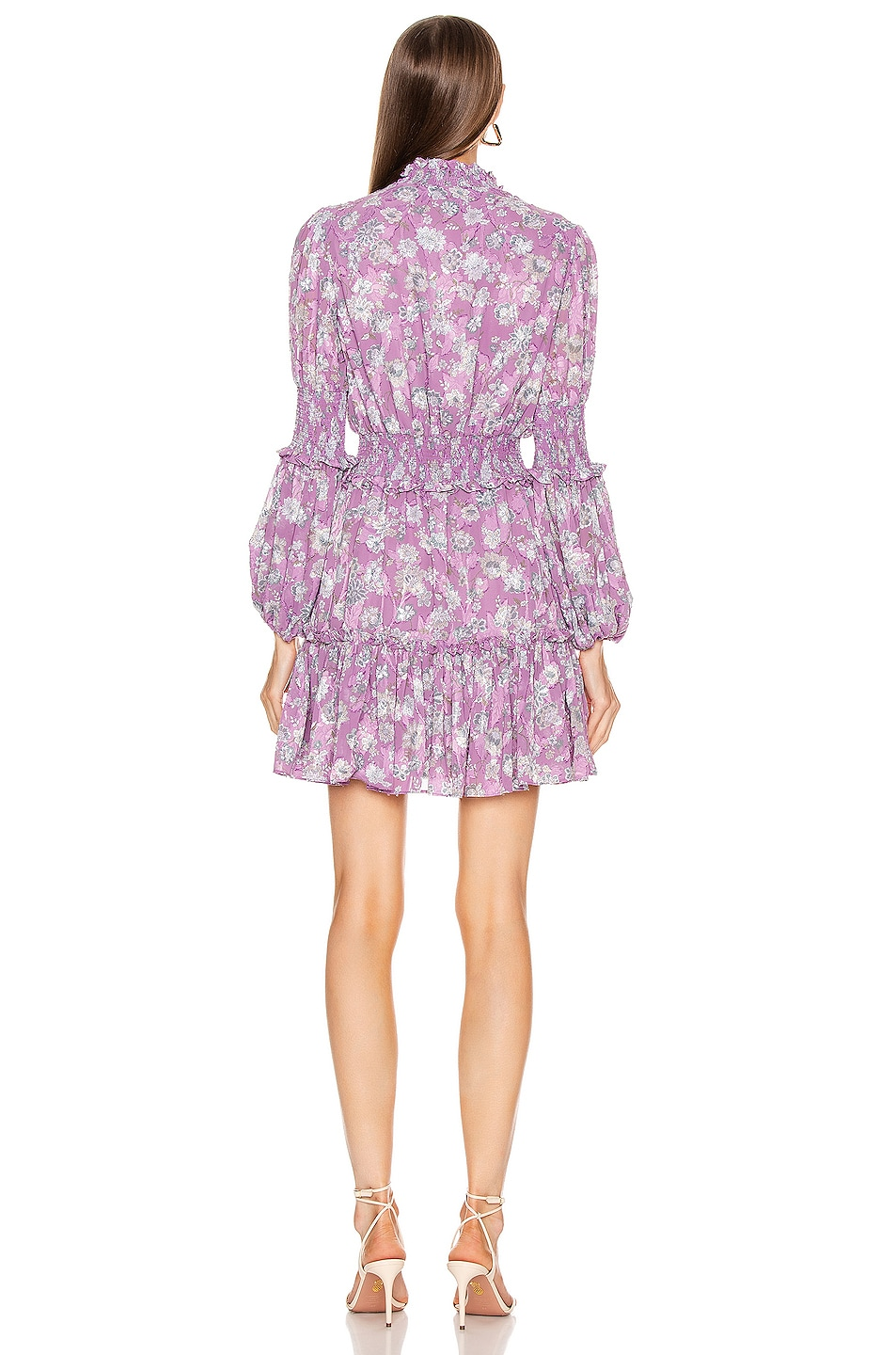 Image 3 of Alexis Rosewell Dress in Lilac Floral