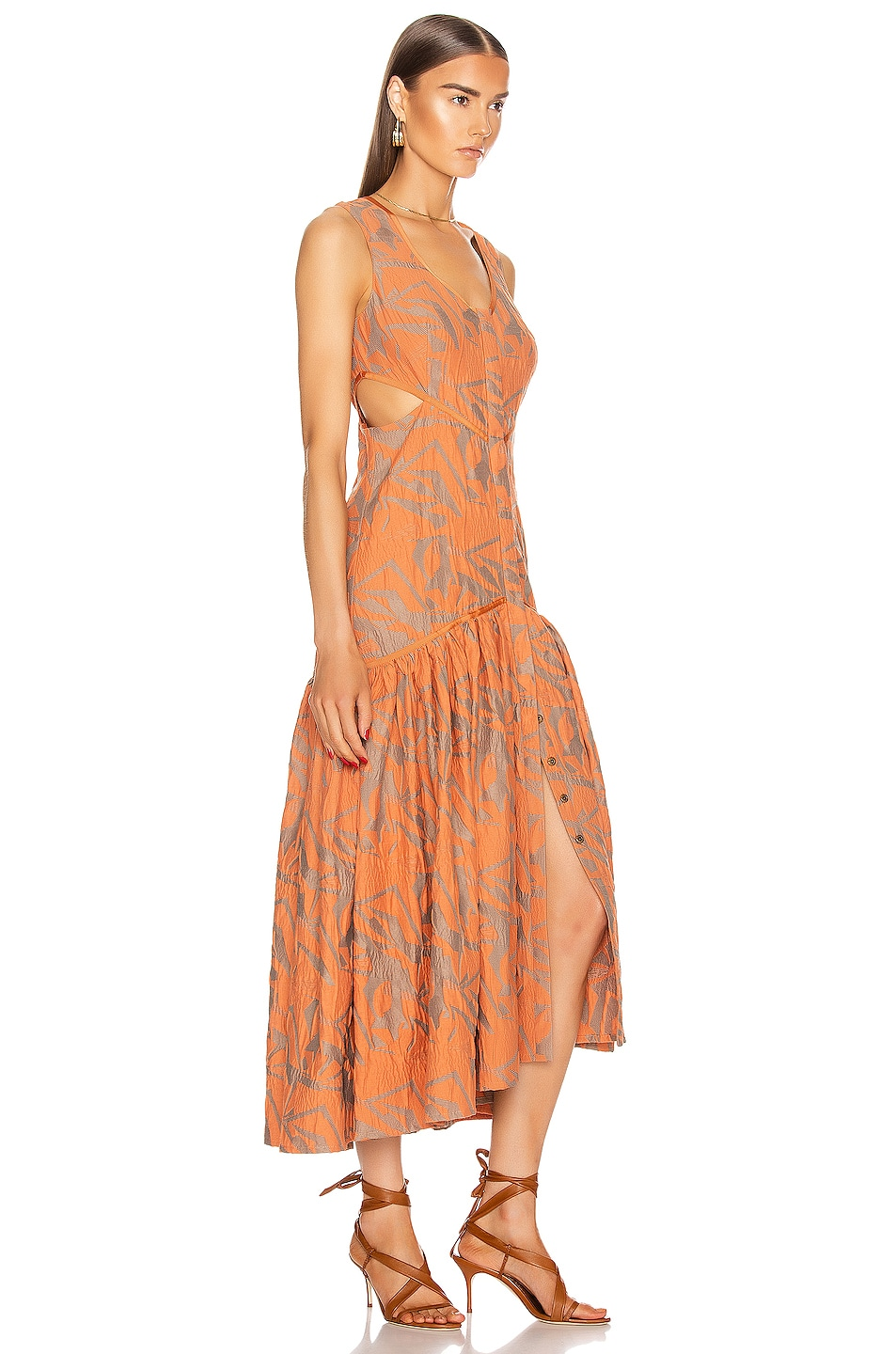 Image 2 of Alexis Garcelle Dress in Amber