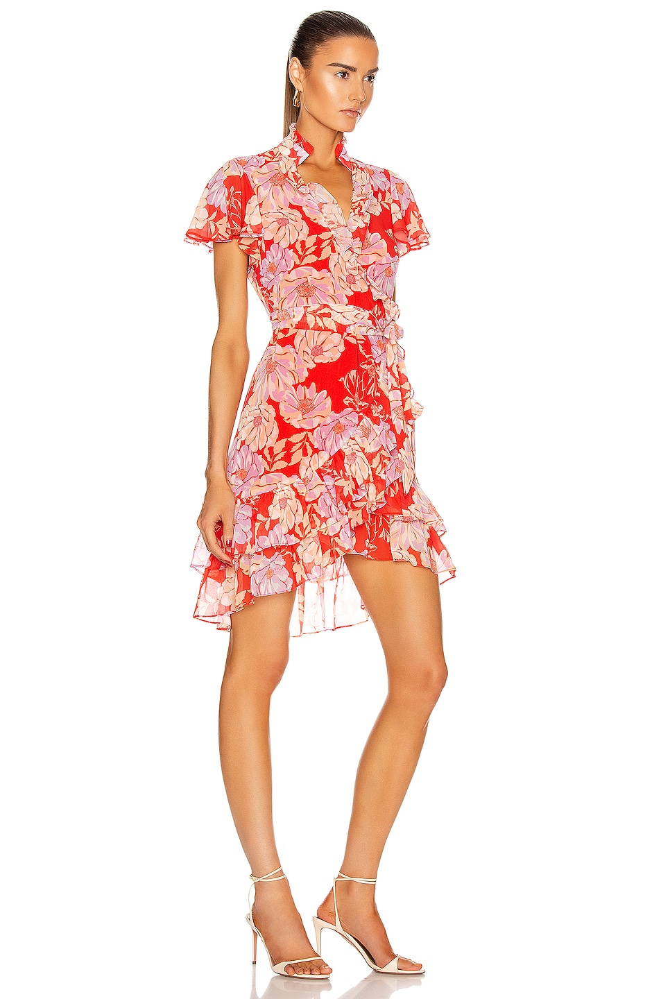 Image 2 of Alexis Melyssa Dress in Red Floral