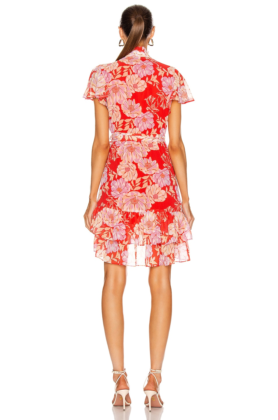 Image 4 of Alexis Melyssa Dress in Red Floral
