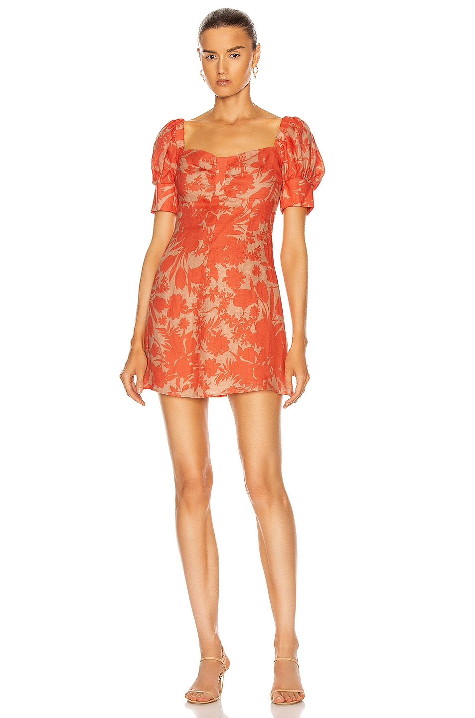 Image 1 of Alexis Pilou Dress in Sand Botanical