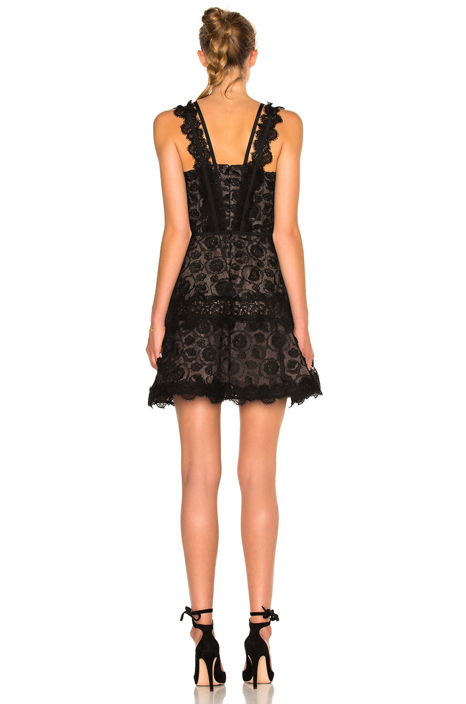 Image 4 of Alexis Mindy Dress in Black Lace