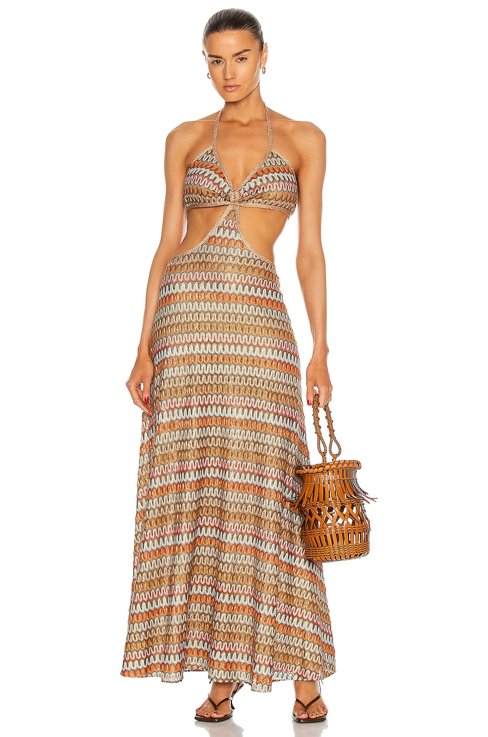 Image 1 of Alexis Ayumi Dress in Multi Knit
