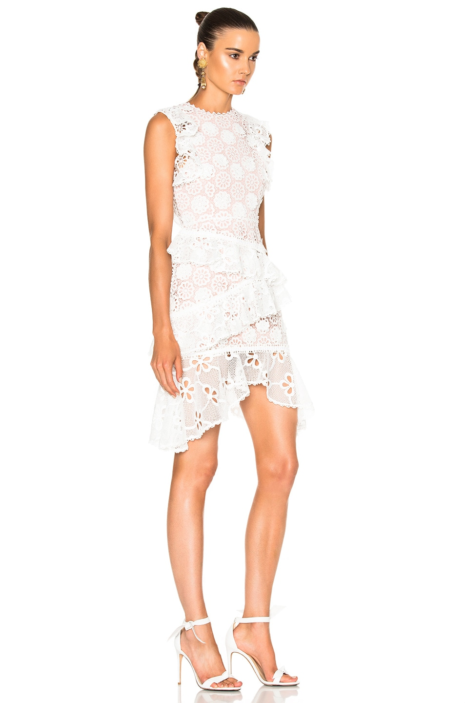 637338fe56729 Image 4 of Alexis Arleigh Dress in White