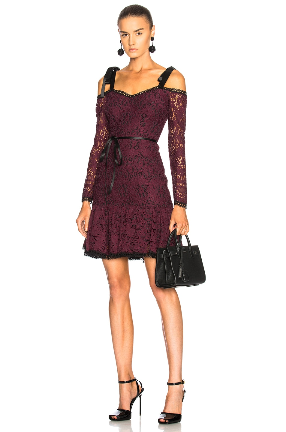 ALEXIS SOPHIA DRESS IN PURPLE