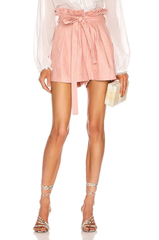 Image 1 of Alexis Jolan Shorts in Blush