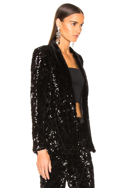Image 3 of Alexis Rashida Jacket in Black Sequins