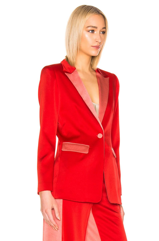 Image 3 of Alexis Nevra Blazer in Red
