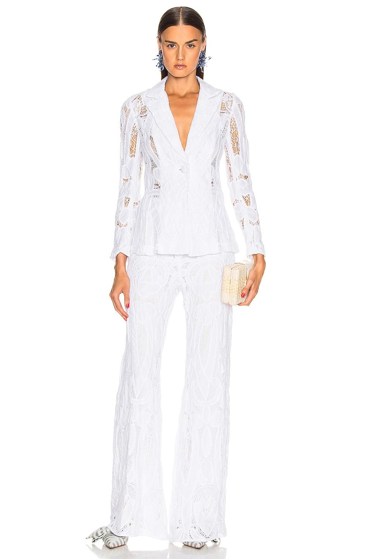 Image 4 of Alexis Durham Blazer in White