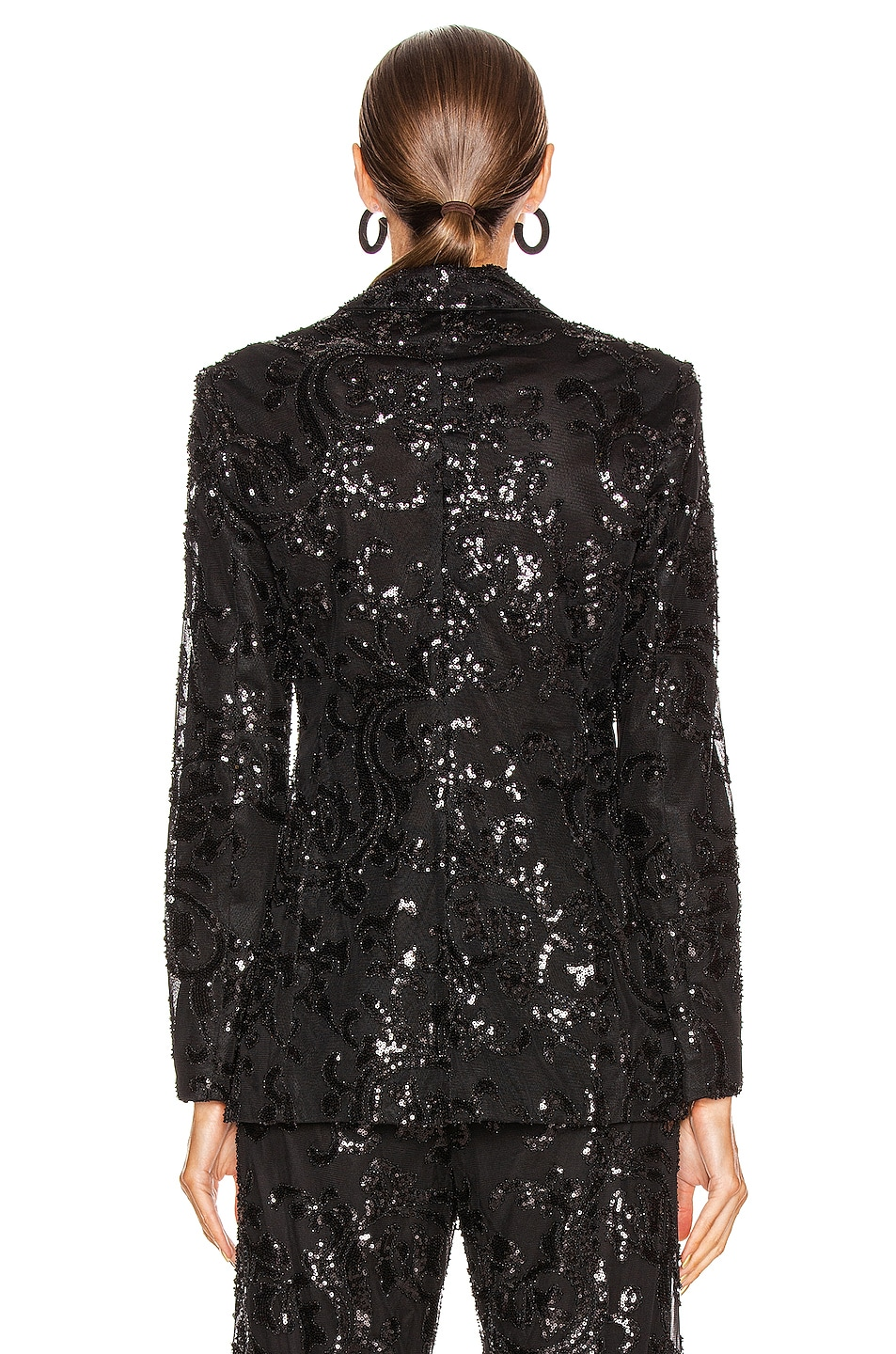Image 3 of Alexis Firdas Jacket in Beaded Black