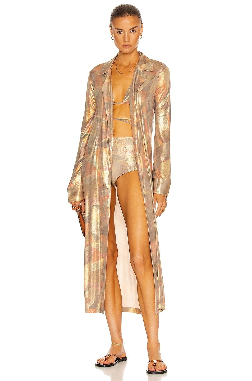 Image 1 of Alexis Beranger Robe in Bronze