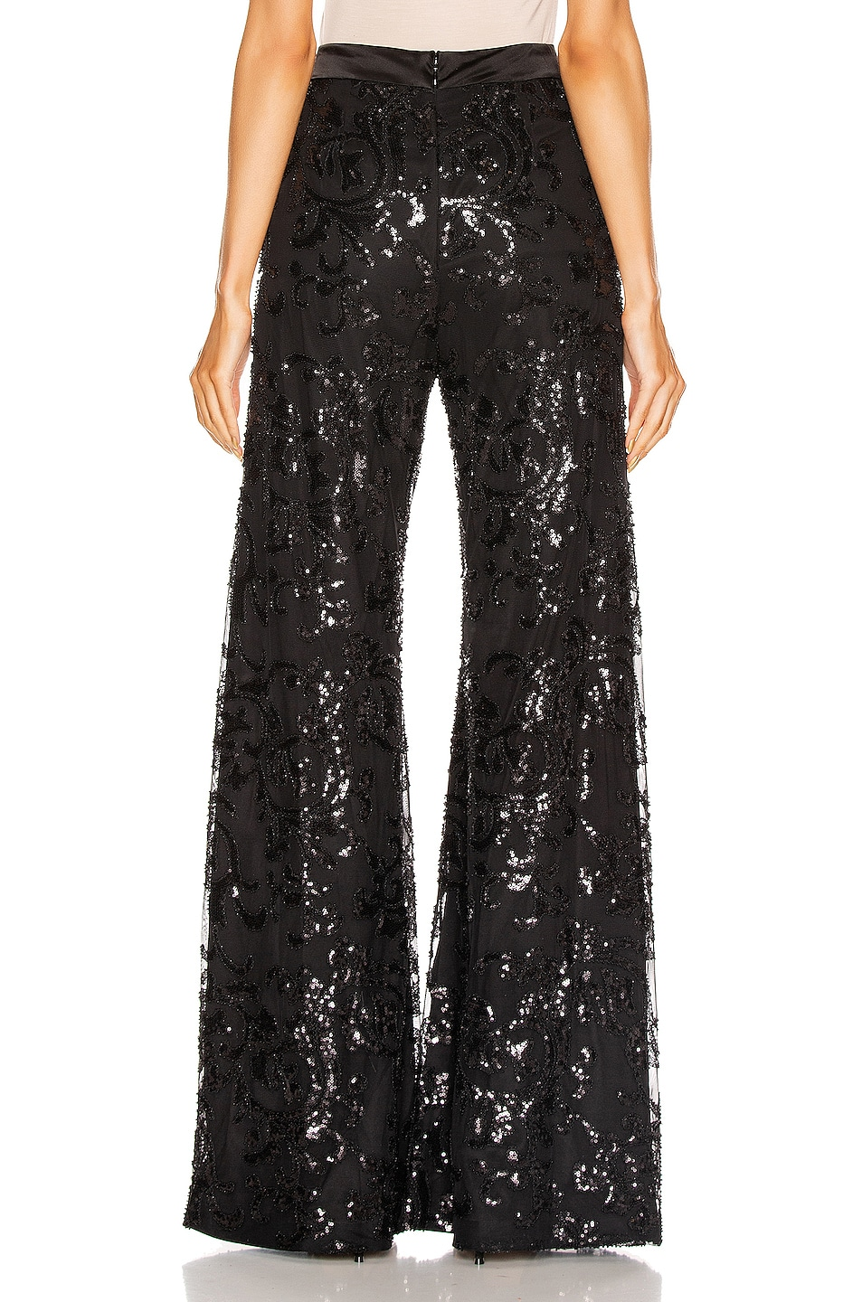 Image 3 of Alexis Silvestro Pant in Beaded Black