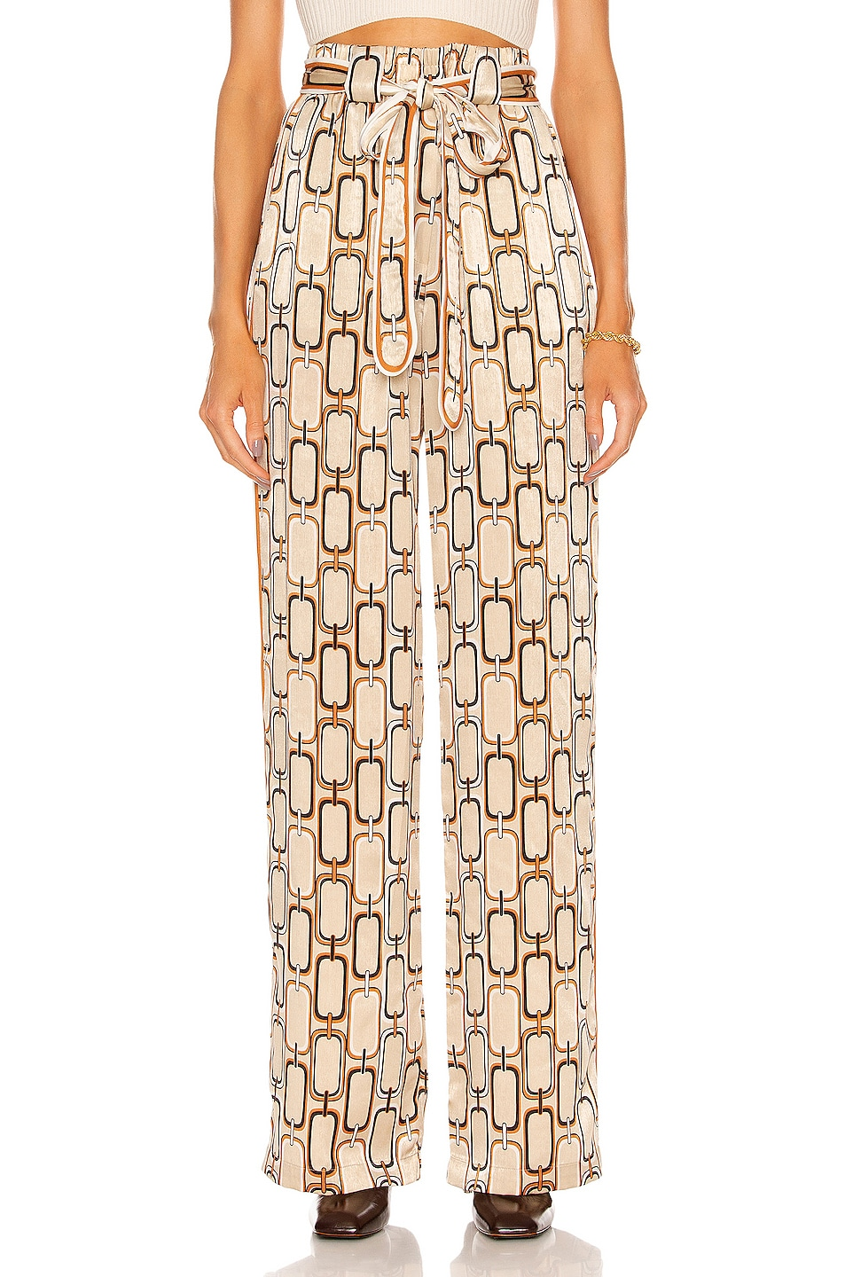Image 1 of Alexis Lionel Pant in Tan Link