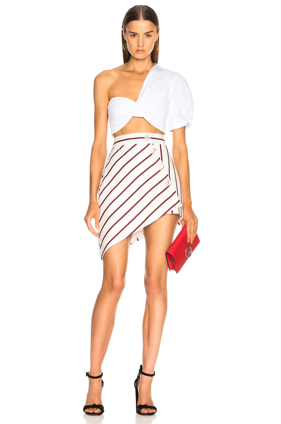 Image 5 of Alexis Alise Skirt in Nautical Stripe