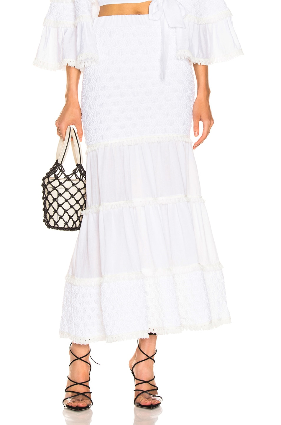 Image 1 of Alexis Geras Skirt in White