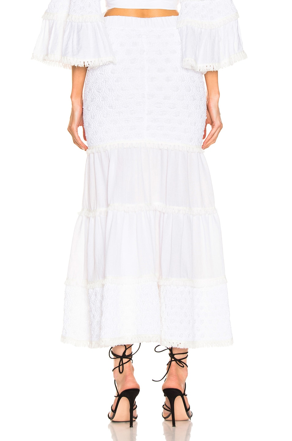 Image 3 of Alexis Geras Skirt in White