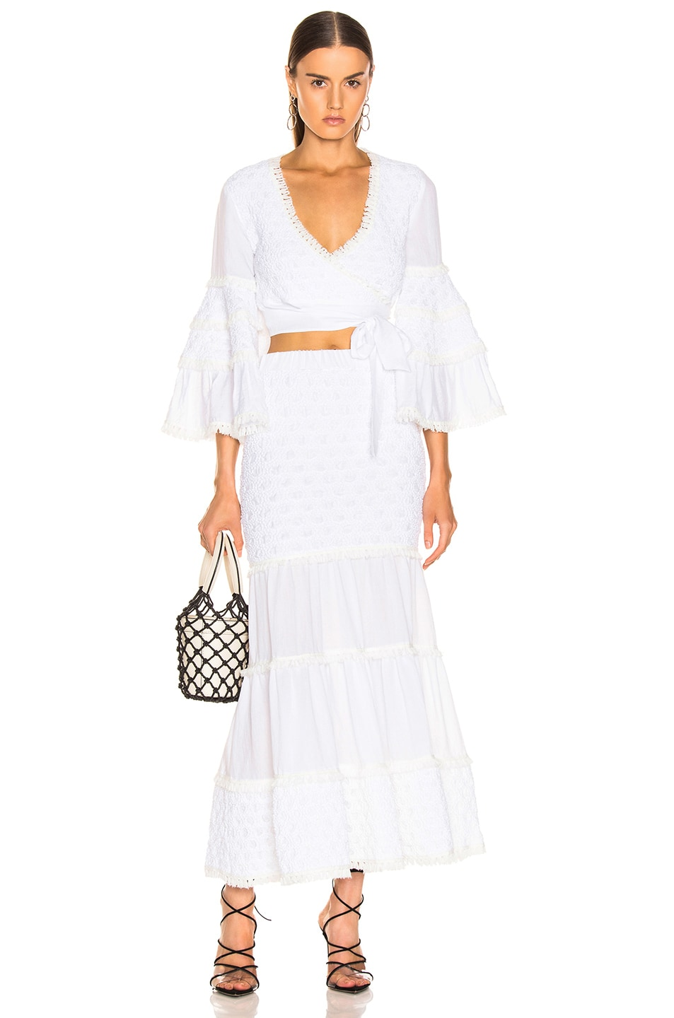Image 4 of Alexis Geras Skirt in White