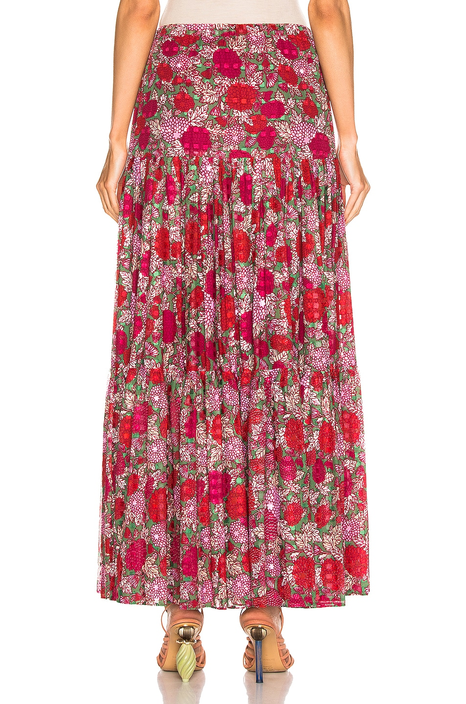 Image 3 of Alexis Grizelda Skirt in Fuchsia Bouquet
