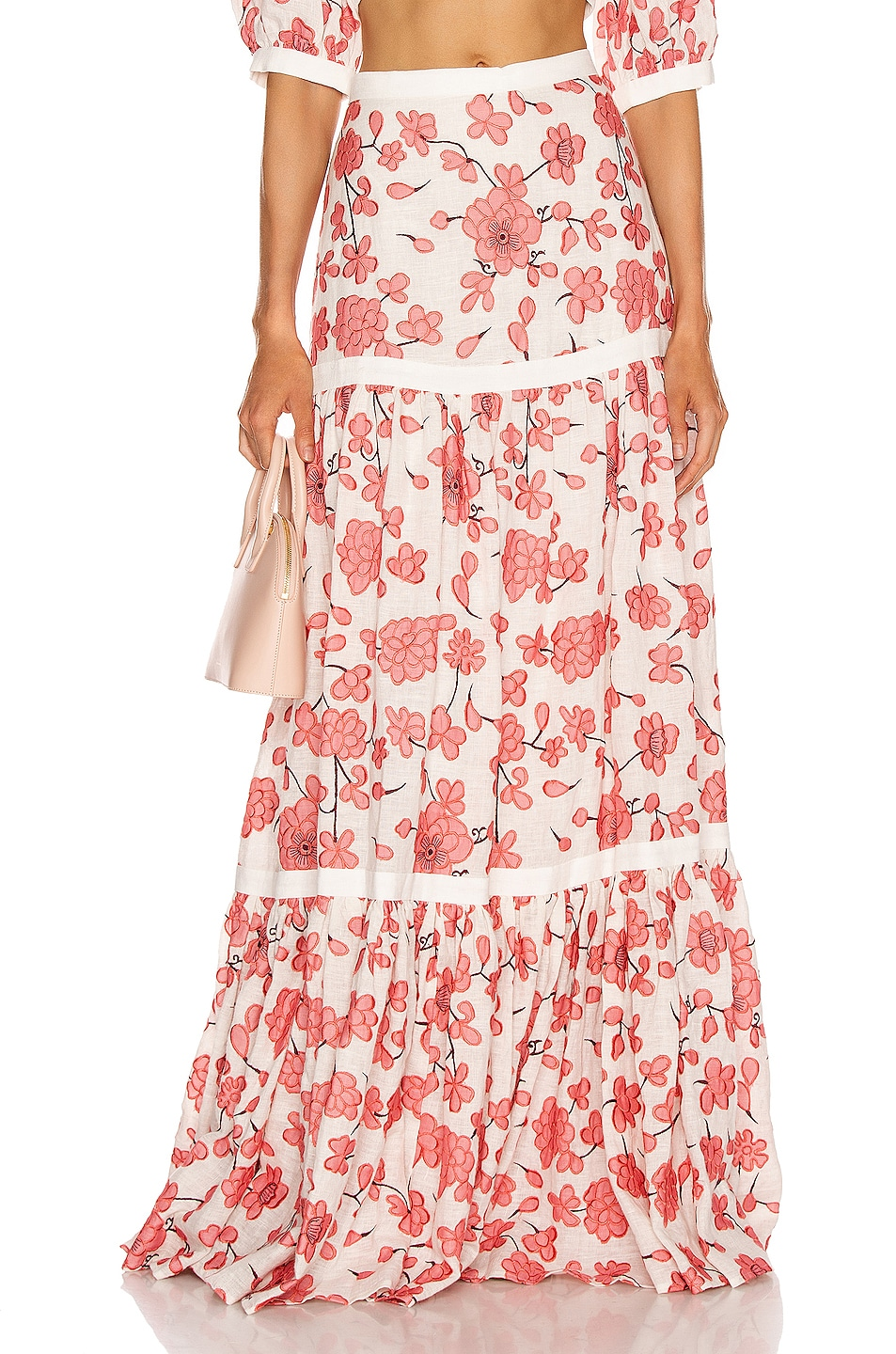 Image 1 of Alexis Serri Skirt in Spring Blossom