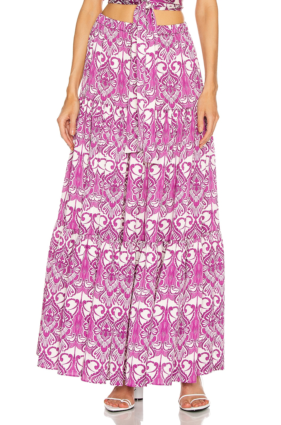 Image 1 of Alexis Tailine Skirt in Mulberry Palm