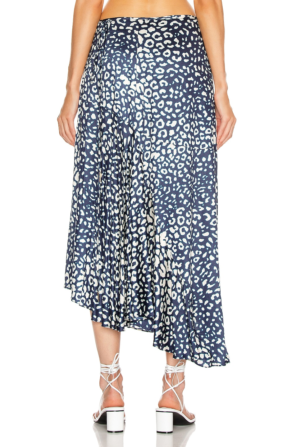 Image 3 of Alexis Fontaine Skirt in Marine Leopard