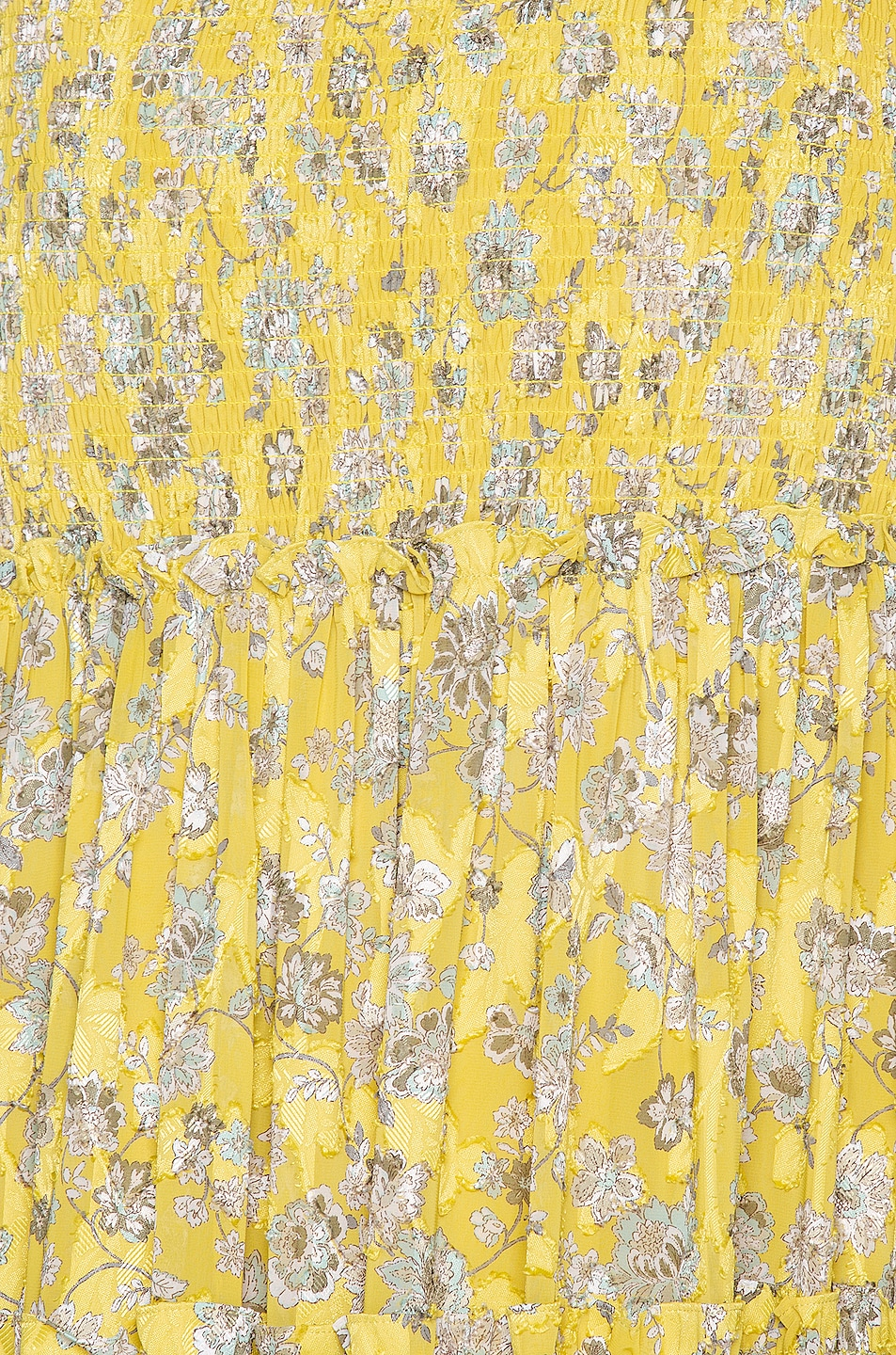 Image 5 of Alexis Galarza Skirt in Citron Floral
