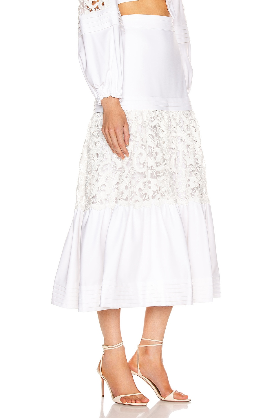 Image 2 of Alexis Gwenda Skirt in White