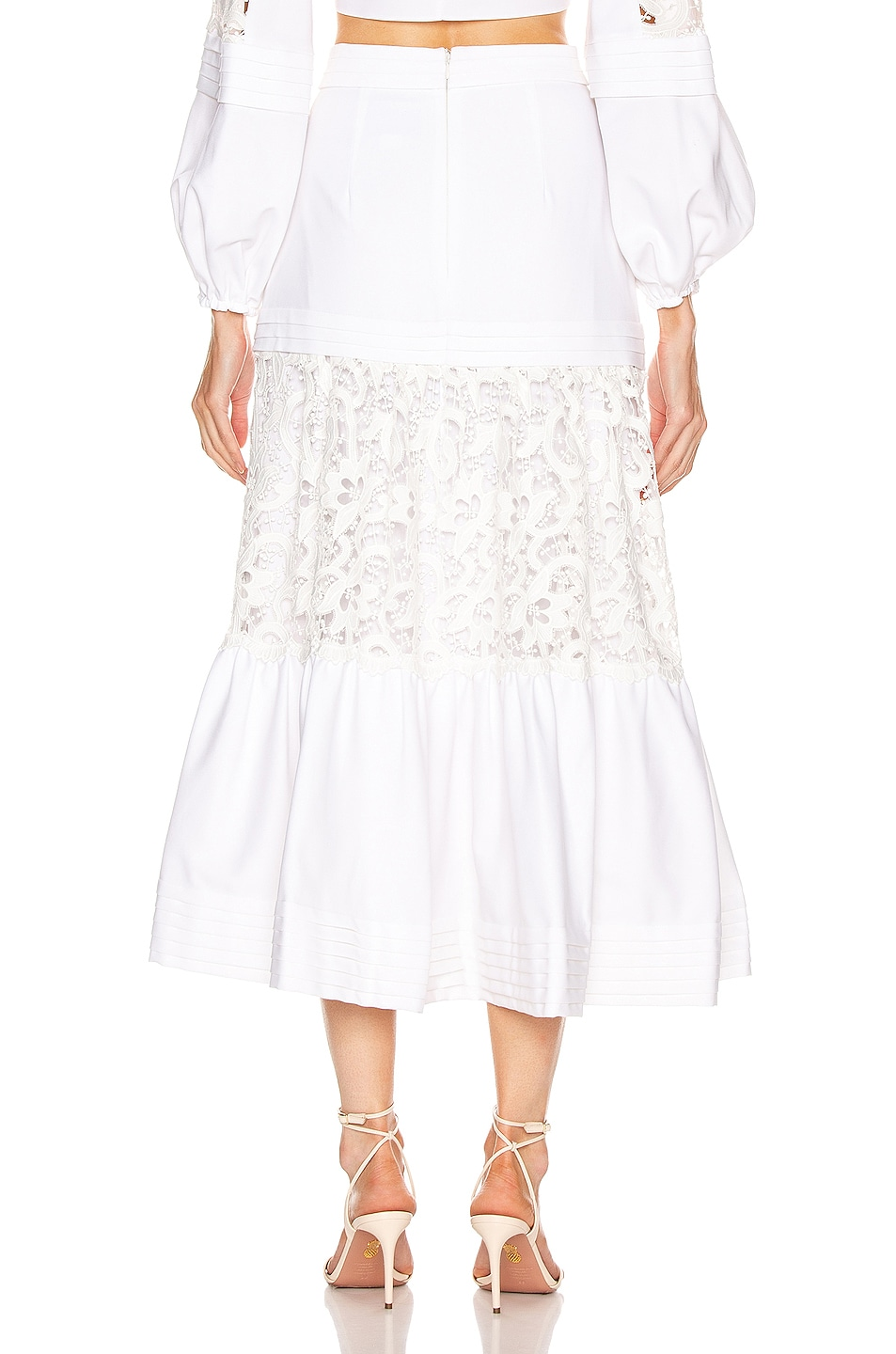 Image 3 of Alexis Gwenda Skirt in White