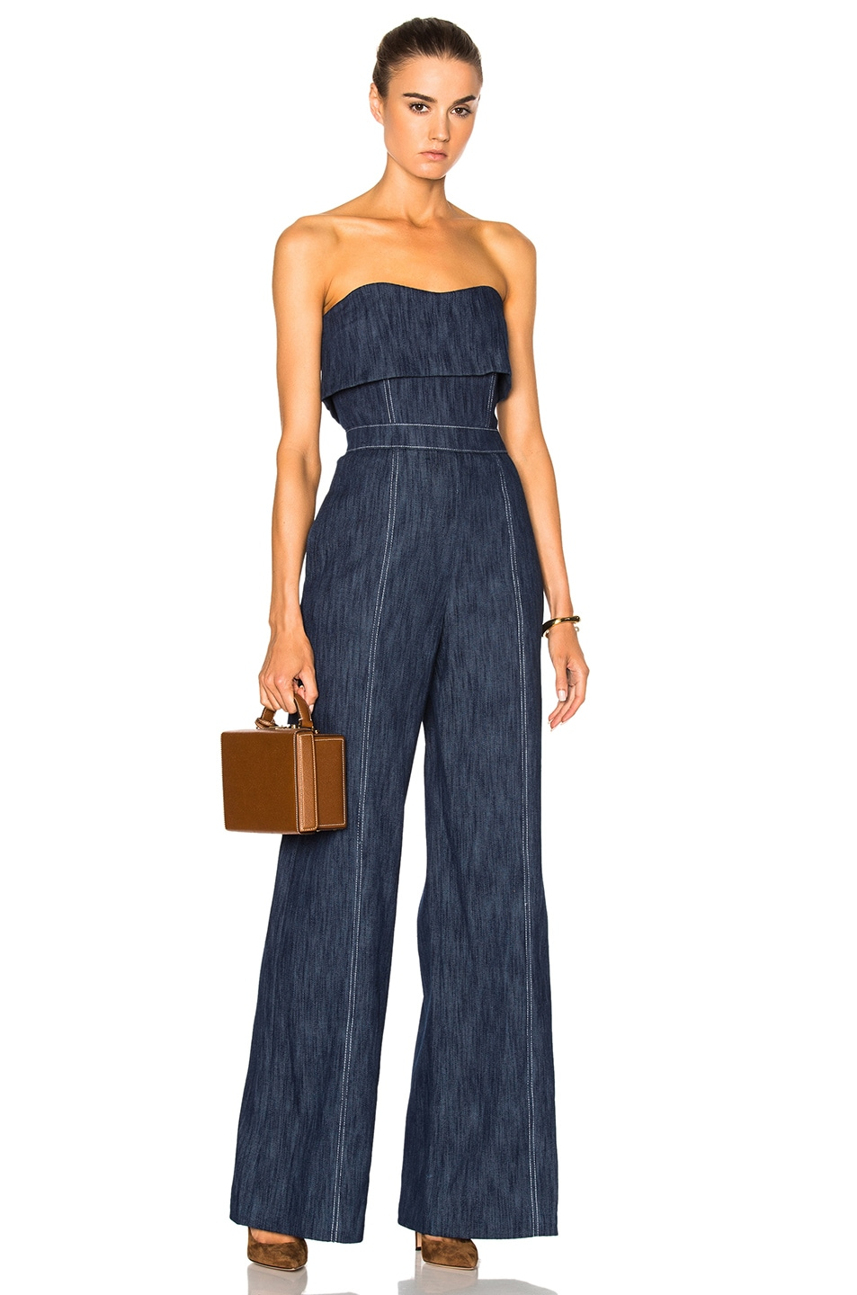 Image 1 of Alexis Allen Jumpsuit in Indigo