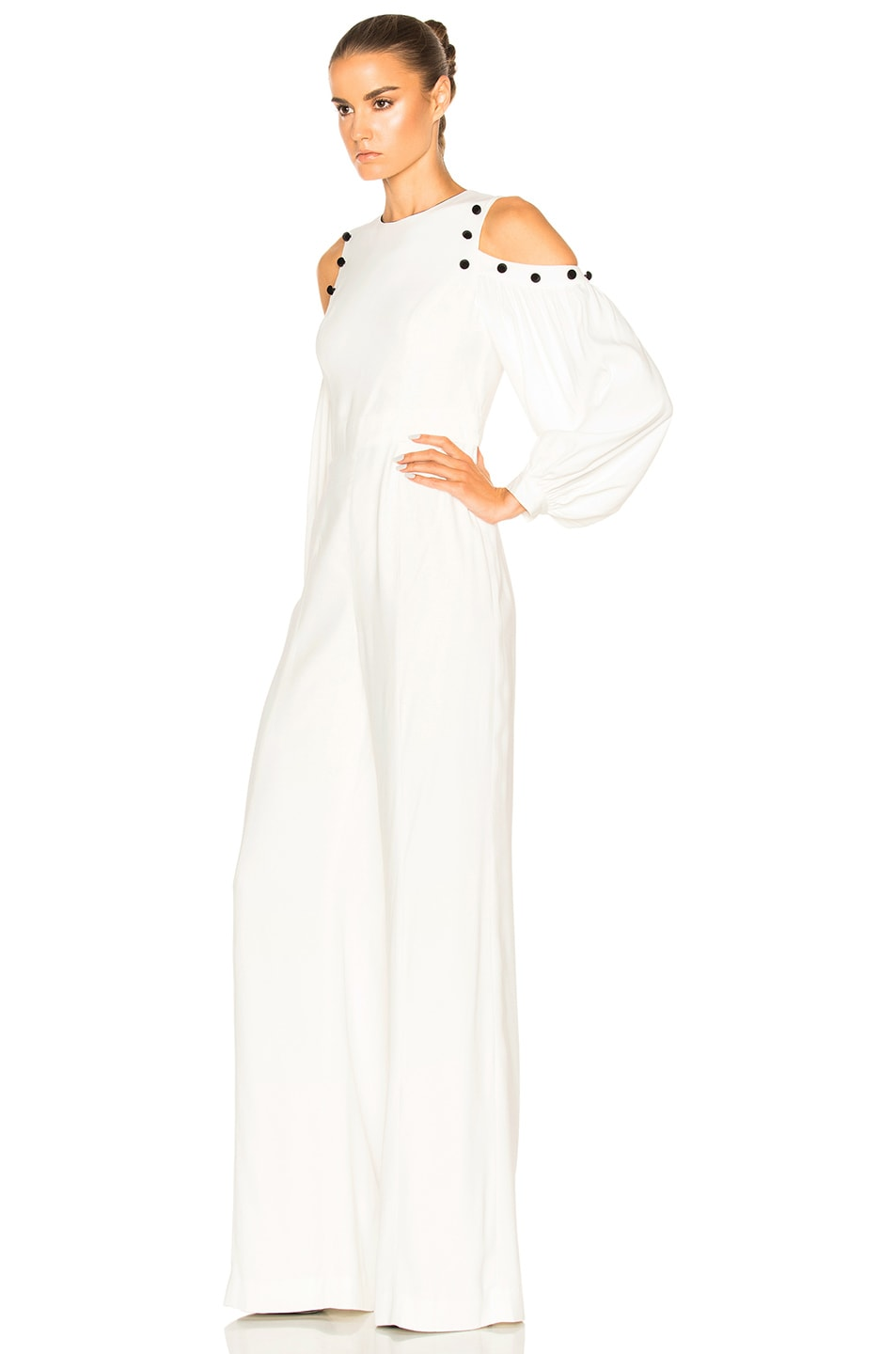 491963a9125 Image 2 of Alexis Easton Jumpsuit in White