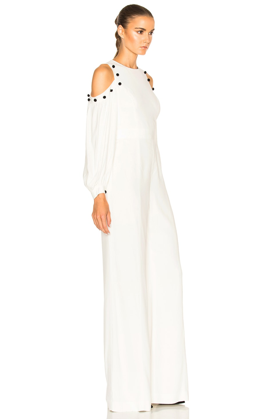 f5d17a7217a Image 3 of Alexis Easton Jumpsuit in White